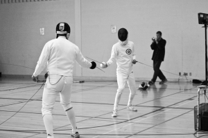 A large number of athletes engaged in the sport of fencing today attribute their original interest in the sport to The Princess Bride   photo credit: Brock Invitational 2009 (147 of 608) via photopin (license)