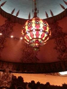 I admit, the chandelier is just whimsical and fun.