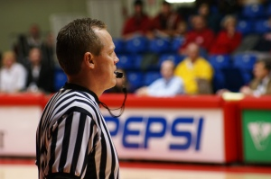 Pardon me, sir, for daring to suggest that my grandma would be a better ref than you. I mean no offense, of course. She's really quite spry for 95 and only completely blind in one eye. photo credit: HPUPhotogStudent via photopin cc