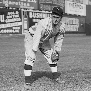 Nothing will stop this man from catching a fly ball. By Bain News Service, publisher. [Public domain], via Wikimedia Commons