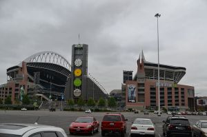 Century Link Field, where the very long football season will get its start. By Visitor7 (Own work) [CC-BY-SA-3.0 (http://creativecommons.org/licenses/by-sa/3.0)], via Wikimedia Commons