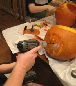 pumpkindrill