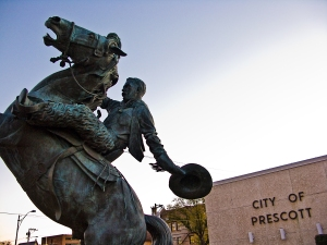First or not, Prescott has embraced its identity as a rodeo town.   photo credit: tombothetominator via photopin cc