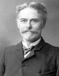 Edward Drinker Cope, respected paleontologist, second-place in the bone war, and also maybe a little bit of a squabbling child. [Public domain], via Wikimedia Commons
