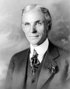 Henry Ford. This man knows his way around a Virginia Reel. [Public Domain], via Wikimedia Commons