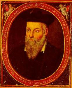 Nostradamus predicted the end in 1999, but it seems maybe he wasn't so certain, because he also thought the year 3797 a likely candidate for a fiery apocalypse. [Public Domain] via Wikimedia Commons