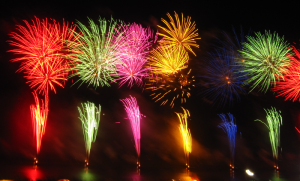 It was the Italians that first brought spectacular color to fireworks displays. And much bigger oohs and ahs.   By 久留米市民(Kurume-Shimin) (Own work) [CC BY-SA 3.0 (http://creativecommons.org/licenses/by-sa/3.0)], via Wikimedia Commons