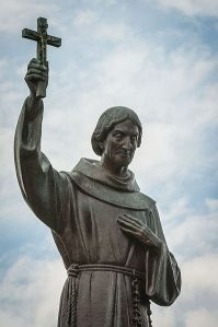 600 foot tall (at least)statue of Father Hennepin at the Basilica of Saint Mary in Minneapolis. By Ibboh (Own work) [CC BY-SA 3.0 (http://creativecommons.org/licenses/by-sa/3.0) or Public domain], via Wikimedia Commons