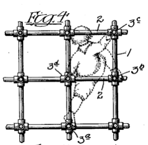 Patent picture by Sebastian Hinton, depicting his