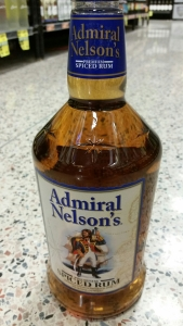 Ship physician William Beatty faced some criticism for choosing to put the admiral's body in brandy rather than the more customary rum. In some versions of the tale it was a rum barrel that was used, which makes this particular branding just a little bit disturbing.