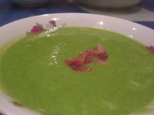 Terrifying. photo credit: Fresh Pea and Ham Soup via photopin (license)