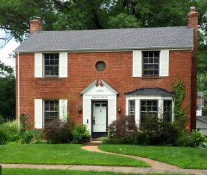 St. Louis's own Exorcism House, the last remaining location of the 1949 exorcism that inspired the novel and movie. Picture via Destination America, which will air