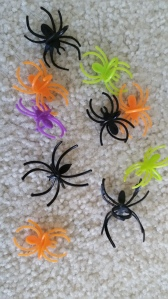 What we have here is a straight up infestation of stupid plastic spider rings. Scary.