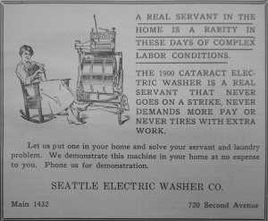 electric washer