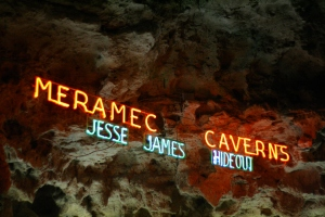 caverns sign