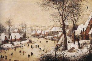 Pieter Bruegel Winter Landscape