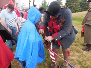 Cass River Colonial Reenactment poncho