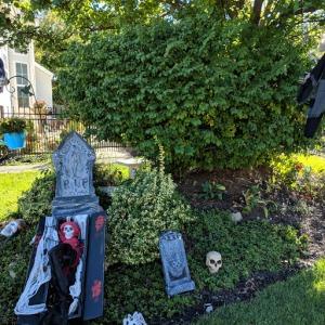 neighborhood grave