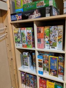 puzzle shelf